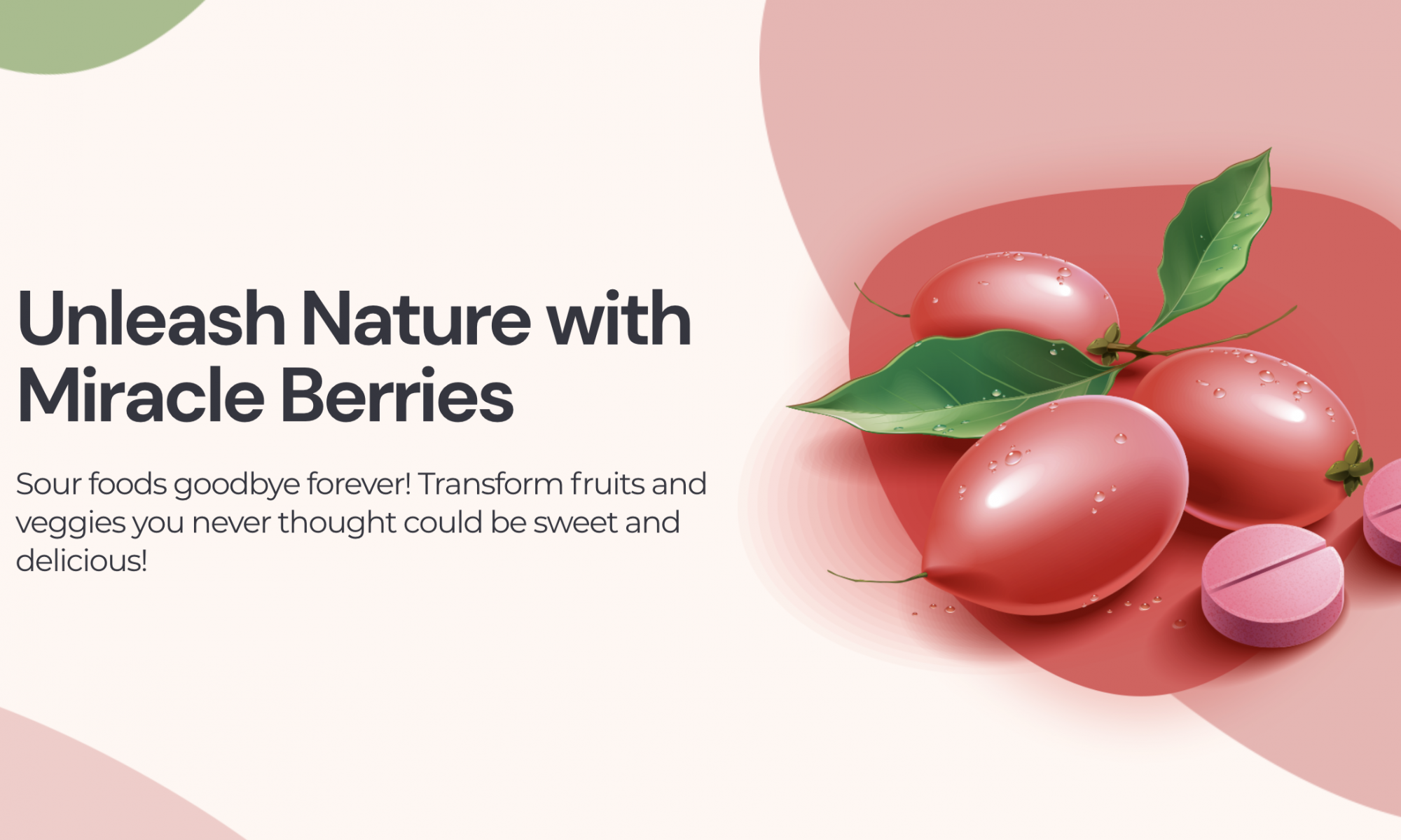 Top 5 Miracle Berry Tablet Brands   Miracle Fruit Pill Reviews